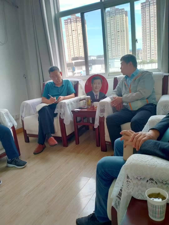 广元市招商局局长与天融集团座谈
